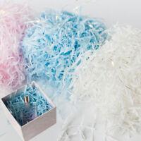 1Bag DIY Dry Straw Shredded Crinkle Paper Gifts Box Filling MaterialDecoratiPLUS