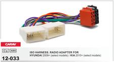 CARAV 12-033 Conector ISO OEM Radio Adaptador HYUNDAI 2009+, KIA 2010+