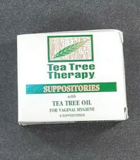 Tea Tree Therapy for Vaginal Hygiene Suppositories with Oil *6 IN THE BOX*