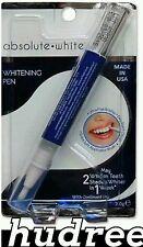 Genuine Teeth Whitening Gel Pen,  Absolute White, Dr Fresh,