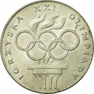 [#722256] Coin, Poland, XXI Olympics, 200 Zlotych, 1976, Warsaw, EF(40-45)