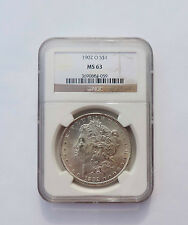 1902 O Morgan Silver Dollar US Coin - NGC MS 63