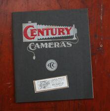 CENTURY 1902 PRODUCT CATALOG/cks/212281