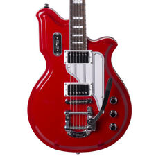 Eastwood Airline Map Electric Guitar in Red