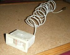 Box shape shop freezer / fridge thermometer -40 to +40 deg C, 1.5m of tube