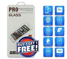PREMIUM ADHESIVES CLEAR Tempered Glass Film Protector For Motorola Moto E4 PLUS