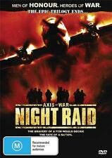 AXIS OF WAR  PART 3  NIGHT RAID -  NEW & SEALED DVD - FREE LOCAL POST