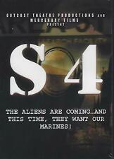 S 4-Sector 4-The Aliens Are Coming-Dvd-50's Sci-Fi Tribute-Still Factory Sealed