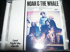 Noah & The Whale Last Night Earth CD – Like New