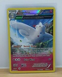 Togekiss Holo Foil / Shiny Pokemon TCG Card XY Roaring Skies 46/108 Light Play