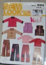 New Look Master Pattern 6314 B/G 3-8 KIDS Jackets Vest Tops & Pants  Variations