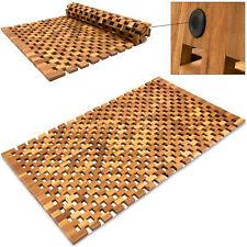 Badematte Badmatte Holzmatte Akazie Holz Badvorleger Vorleger Duschvorlage Bad