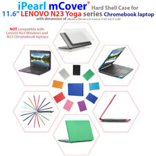 "NEW iPearl mCover® Hard Shell Case for 11.6"" Lenovo N23 Yoga Chromebook laptops"