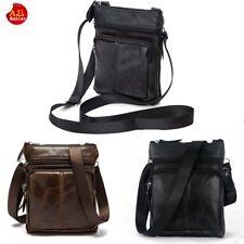 Man Messenger Crossbody Shoulder Bag Tote Leather Travel Daypack Business Purse