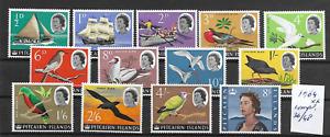 Pitcairn  @   Better  MNH Set Birds 1964 - Low Start  @ pce901