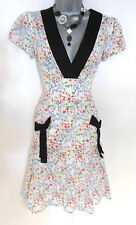 Alice Mc Call Topshop Geometric Square Print Day Festival Summer Dress 10