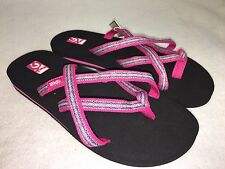 Teva Olowahu Mush Flip Flops Sandals Women's Thongs Multiple Colors 6840 B NEW