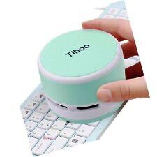 Tihoo Keyboard Vacuum Cleaner Computer Desktop Table Dust Sweeper for Counter...