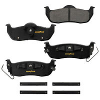 Goodyear Brakes GYD1067 Truck and SUV Carbon Ceramic Rear Disc Brake Pads Set