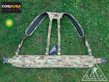 A.T.A.K.A. Multicam MOLLE Warbelt SECTOR-M (4point suspended soft shoulder set)