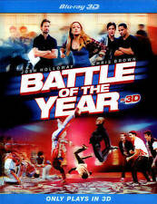 BATTLE OF THE YEAR New Sealed Blu-ray 3D
