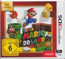Super Mario 3d Land Pour Nintendo 3 DS NOUVEAU & NEUF dans sa boîte allemande USK 6 Version
