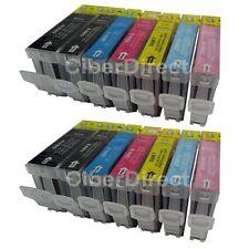 14 COMPATIBILI CANON PGI-5 / CLI-8 cartucce di inchiostro (Photo Pack). fattura con IVA.
