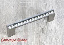 "5-3/4"" Sub Zero Style Stainless Steel Kitchen Cabinet Bar Pull Handle Hardware"
