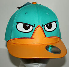 Disney Phineas & Ferb Perry Baseball Trucker Snap back Hat Cap New Tags OSFA