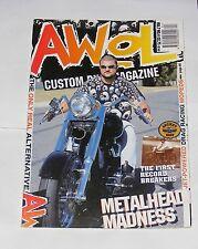 AWOL CUSTOM BIKE MAGAZINE VOLUME 7 NO.4 - METALHEAD MADNESS
