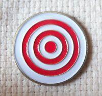 New Unique Bulls eye Golf Ball Marker Bullseye