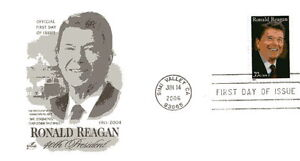 4078 39c Ronald Reagan ArtCraft FDC