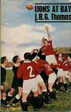 """""""LIONS AT BAY"""" by JBG THOMAS RUGBY BOOK BRITISH LIONS TOUR 1966"""