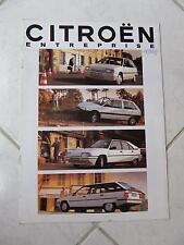 Citroen AX BX BX Break entreprise 1992 sales brochure prospekt catalogue