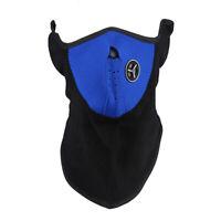 4X( Masque de Néoprène Bleu et de Laine Thermique pour monter à bicyclette Q3C5)