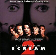 "Marco Beltrami:  ""Scream 2""  (Soundtrack Score-CD)"