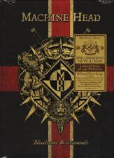 MACHINE HEAD 'Bloodstone & Diamonds' 2014 limited edition mediabook CD