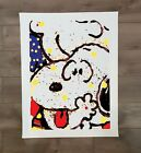 """Snoopy Charlie Brown Squeeze Play Canvas Print 24"""" x 32"""" Tom Everhart"""