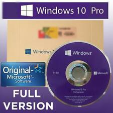 WINDOWS 10 PRO 64 BIT WIN10 PROFESSIONAL DVD ENGLISH FULL VERSION 64BIT OEM