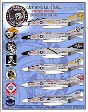 Furball Decals 1/48 McDONNELL DOUGLAS F-4J PHANTOM II Air Wing All Stars Part 3