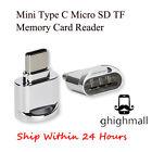 Mini Type C Micro SD TF Memory Card Reader OTG Adapter Type C 3.1 Portable