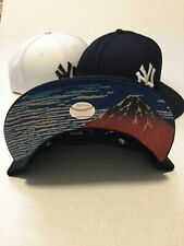 New Era New York Yankees UKIYOE Japan Edition Hat Cap Black  Size 7 5/8