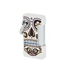 St Dupont S.T. lighter Hooked Mexic-o in white skull key ring torch flame 032026