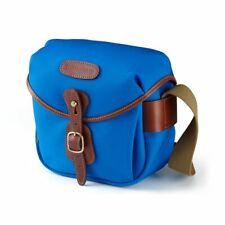 Billingham Hadley Digital Camera Bag in Imperial Blue Canvas/Tan Leather