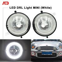 LED Halo Ring DRL Daytime Running Lights Lamp For MINI Cooper S R56 R57 R58 R60