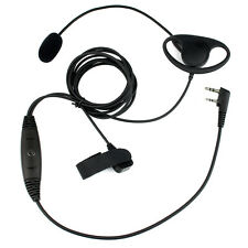 New 2PIN Earpiece Headset Boom Mic finger PTT for Retevis Kenwood TH-D7A Top ES