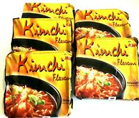 Mama Kim Chi Flavor Instant Noodles Large Size 3.47 oz x 5 Packs ~ US SELLER