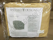 Ballard Designs Outdoor Oversized Lounge Chair Furniture Cover 54x43 Gold Patio