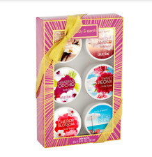 Body & Earth Body Butter Gift Set of 3 Peony Orchid Cherry Vanilla Beach