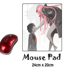 HOT Darling in the FranXX Anime Anti-Slip Mouse pad PC Mice Mat
